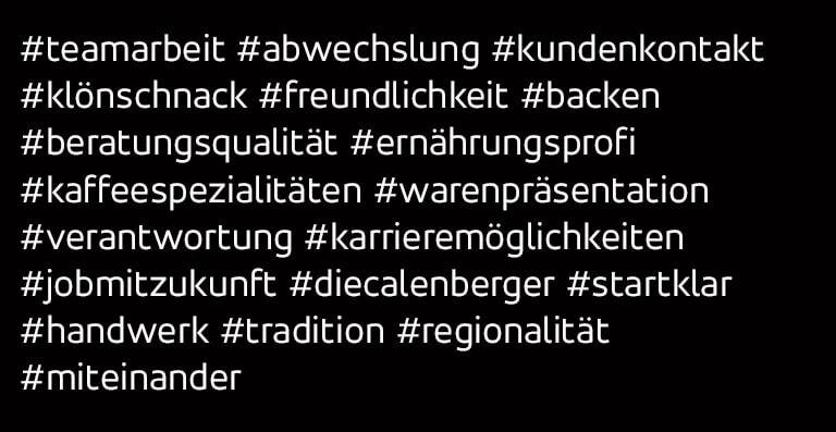 Hashtags zum Thema Verkauf