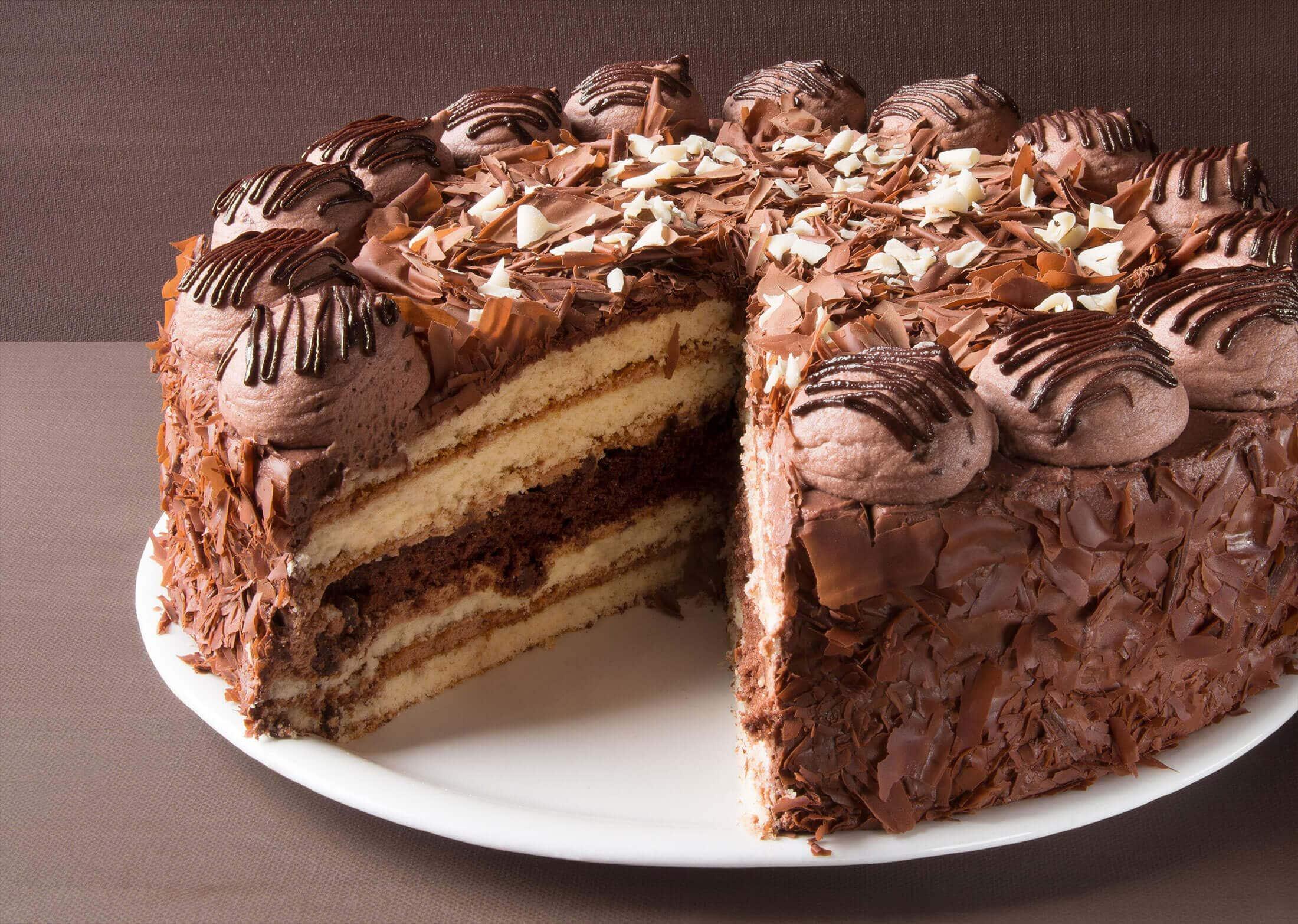 Schoko-Knusper-Torte