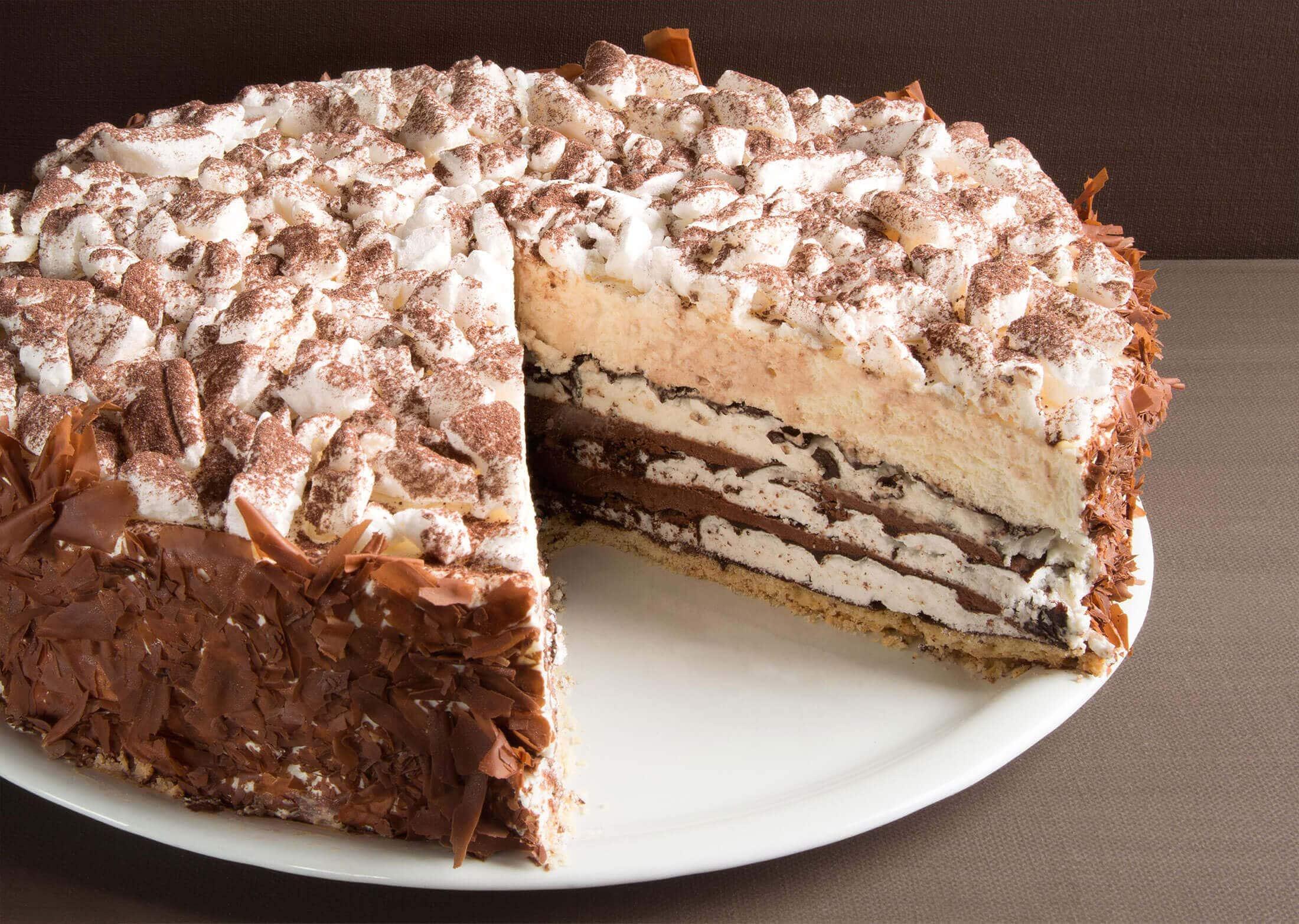 Monatstorte Januar – Baiser-Torte