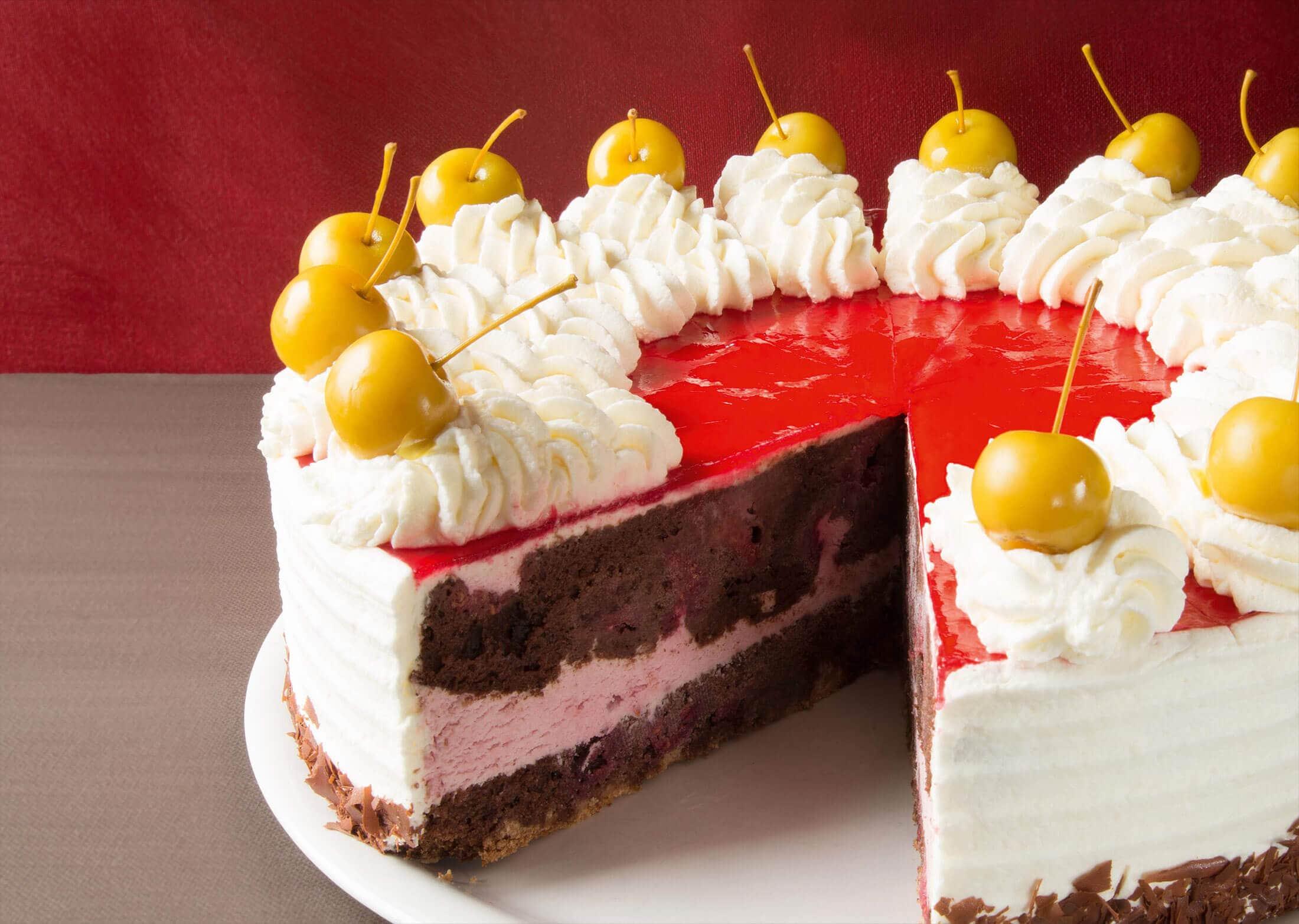 Monatstorte April – Schneewittchen-Torte