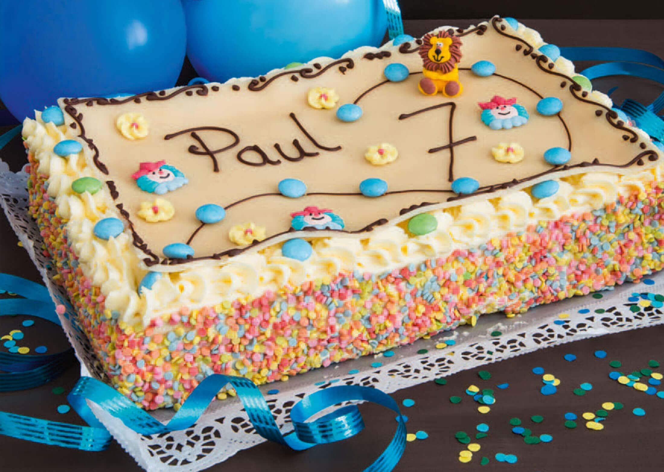 Geburtstags-Kinder-Torte für Jungs